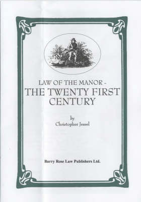 Law of the Manor