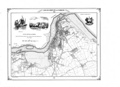 South Shields 1856 Map