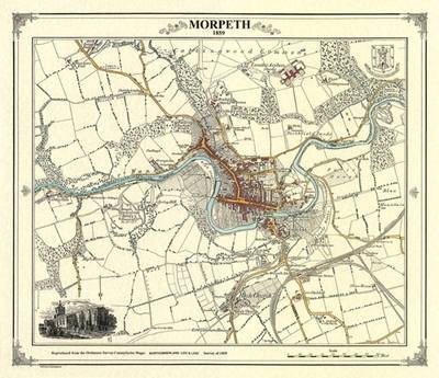 Morpeth 1859 Coloured