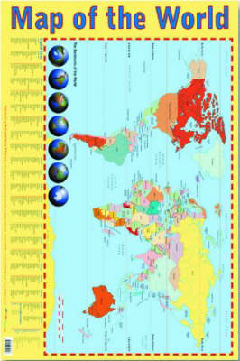 Map of the World: Small Format