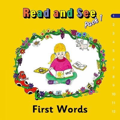 Jolly Phonics Read and See, Pack 1: in Precursive Letters (BE)