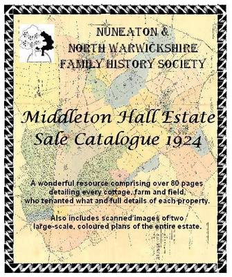Middleton Hall Estate Sale Catalogue - 1924