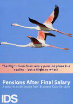 Pensions After Final Salary 2003/2004: 2003/04