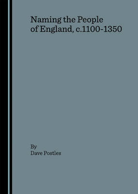 Naming the People of England, c.1100-1350