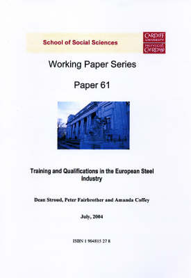 Training and Qualifications in the European Steel Industry