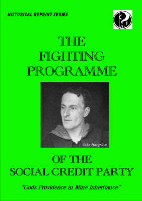 The Fighting Programme of the Social Credit Party