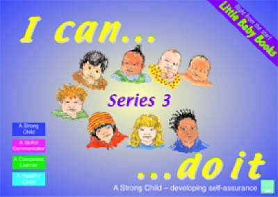 Little Baby Books Set 3: I Can Do it, Let's Listen, Make Your Mark, Which One?