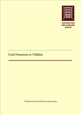 Food Promotion to Children