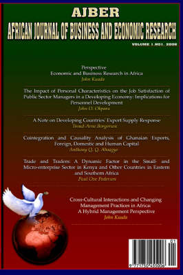 African Journal of Business and Economic Research (Vol.1 No.1)