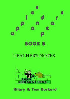 Apples and Pears: Bk. B: Teacher's Notes