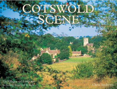 Cotswold Scene: A View of the Hills and Surrounding Areas, Including Bath and Stratford Upon Avon