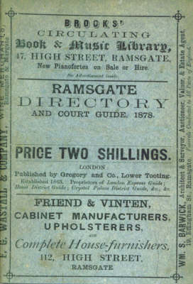 Ramsgate Directory and Court Guide, 1878