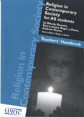Religion in Contemporary Society for AS Students - Teachers' Handbook