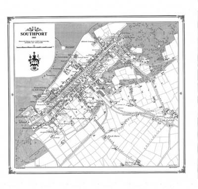 Southport 1845 Map
