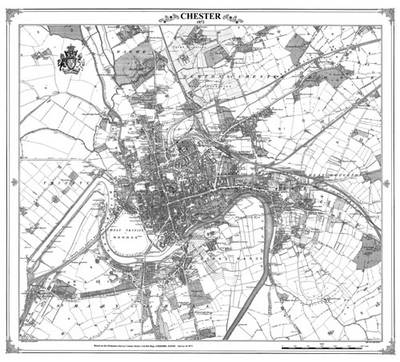 Chester 1872 Map