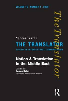 Nation and Translation in the Middle East: 1: 15