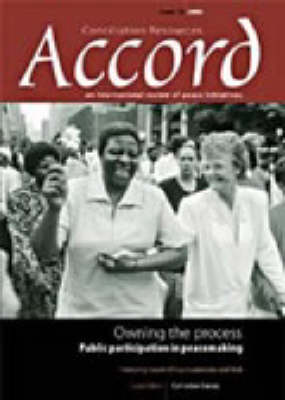 Owning the Process: Public Participation in Peacemaking