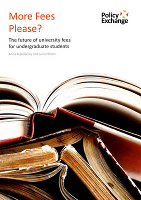 More Fees Please?: The Future of University Fees for Undergraduates Students