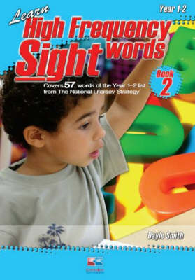 Learn High Frequency Sight Words: Bk. 2