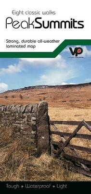 Eight Classic Walks - Peak Summits: Strong, Durable All-weather Laminated Map