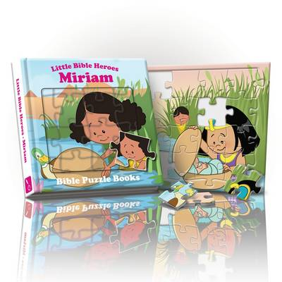 Little Bible Heroes Miriam: Bible Puzzle Books
