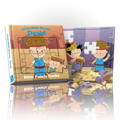 Little Bible Heroes David: Bible Puzzle Books