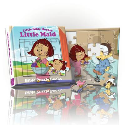 Little Bible Heroes Maid: Bible Puzzle Books