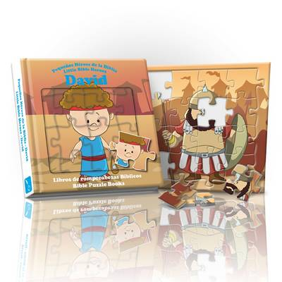 Little Bible Heroes - David: Bible Puzzle Books