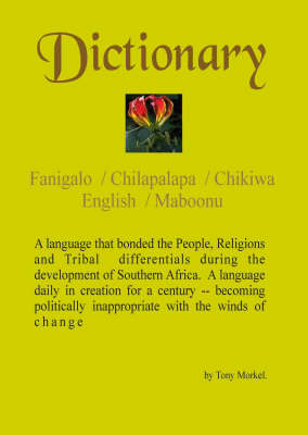 Dictionary: Fanigalo / Chilapalapa / Chikiwa / English / Maboonu