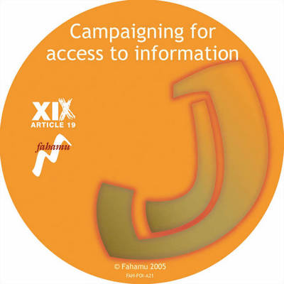 Campaigning for Access to Information