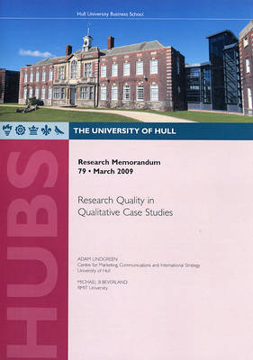 Research Quality in Qualitative Case Studies