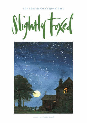 Slightly Foxed: A Lonely Furrow: No. 19