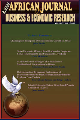 Challenges of Enterprise-Driven Economic Growth in Africa (African Journal of Business and Economic Research, Vol 3 No 1, 2008
