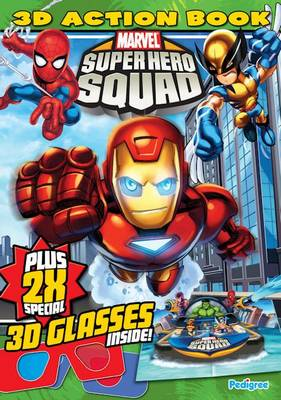 Marvel 3D Super Hero's Squad Spring 2010