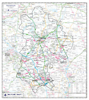 Bedfordshire County Planning Map: No. 1A