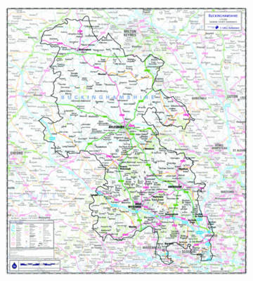 Buckinghamshire County Planning Map: No. 1A