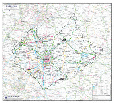 Leicestershire County Planning Map: No. 1A