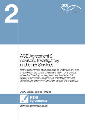 ACE Agreement 2: Advisory, Investigatory and Other Services: 2009