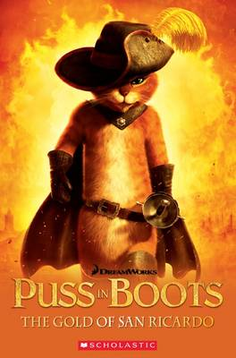Puss in Boots - The Gold of San Ricardo - Book with Audio CD