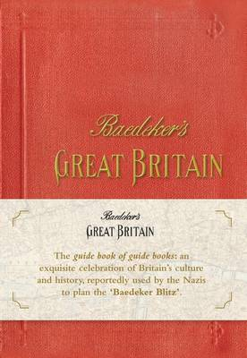 Baedeker's Guide to Great Britain, 1937: Handbook for Travellers