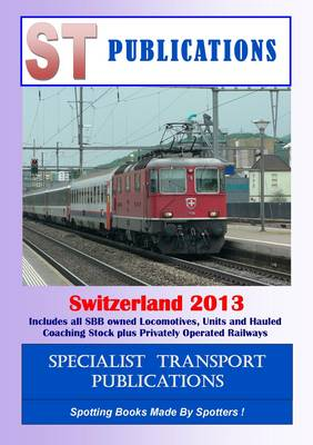 European Rail Datafile Switzerland: 2012
