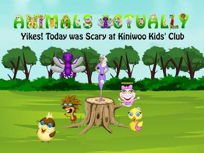 Yikes! Today Was Scary at Kiniwoo Kids' Club: BOOK Y