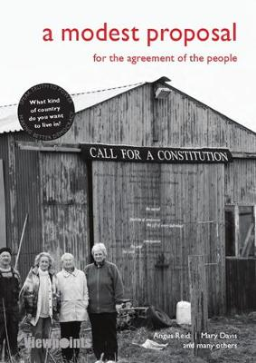 A Modest Proposal: For the agreement of the people