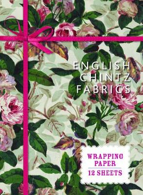 English Chintz Fabrics Wrapping Paper: From the V&A Museum