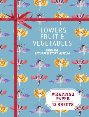 Flowers, Fruit and Vegetables Wrapping Paper: From the Natural History Museum