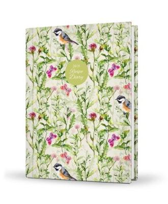 2018 Recipe Diary Birds Design: A5 Week-to-View Diary with 56 Delicious Triple-Tested Recipes plus a Handy Pocket: 2018