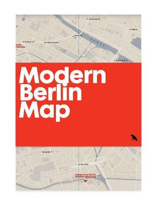 Modern Berlin Map: Guide to 20th Century Architecture in Berlin
