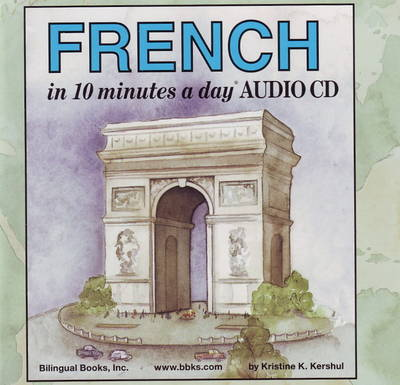 French in 10 Minutes a Day Audio CD Wallet - Library Edition
