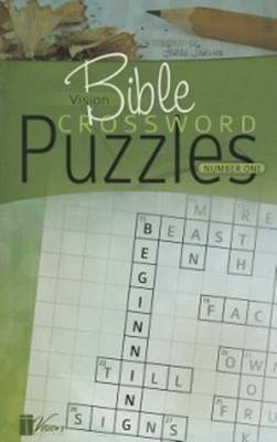 Vision Bible Crossword Puzzles: Number One