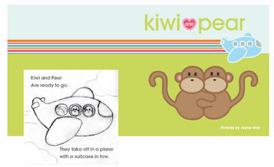 Kiwi and Pear's Travel Word Cards